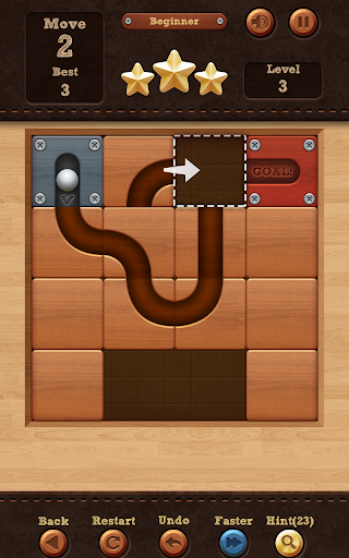 Roll the Ball: slide puzzle  captures d'écran 2