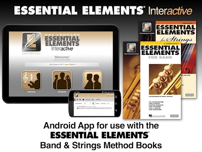 Essential Elements Interactive - BETA - náhled