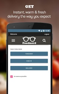 Foodnerd - Food Delivery- screenshot thumbnail