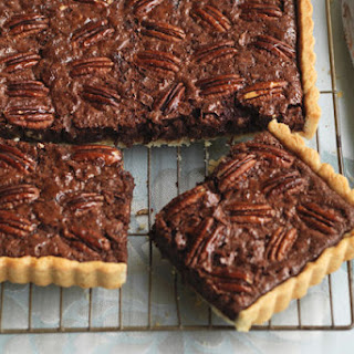 Chocolate-Pecan Slab Pie