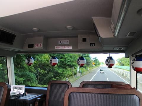 WILLER(網走バス)「レストランバス」 札幌8888 車窓 その3