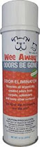 Wee Away Odor Be Gone Spray - 18oz