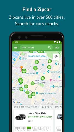 Zipcar screenshots 3