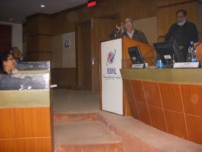 Photo: GS along with Prabir Purkasyatha, Delhi Science forum