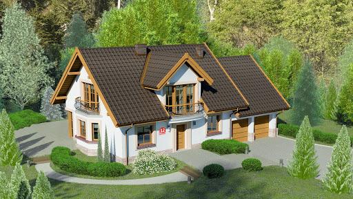 projekt Dom przy Wiosennej 12