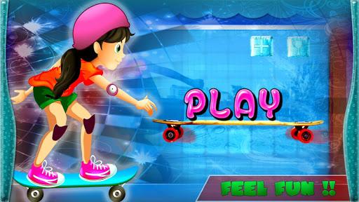 Stunt Girl: Extreme Skateboard