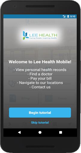 Lee Health Mobile screenshots 1