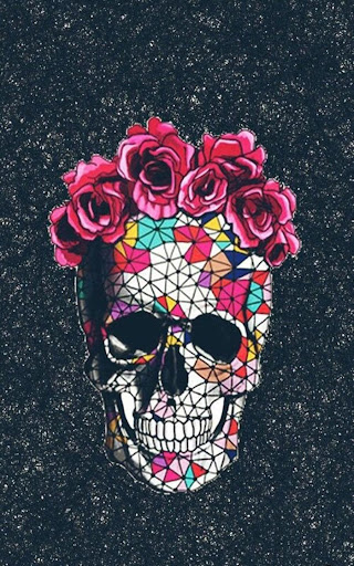 ... Sugar Skull Wallpaper screenshot 3 ...