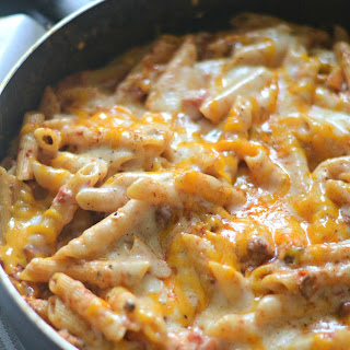 Chili Cheese Dip One Pot Pasta
