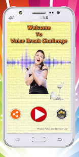 Voice Break Challenge -Break glass with your voice - náhled