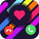 Super Call Flash-HD Caller Screen, Color caller ID icon