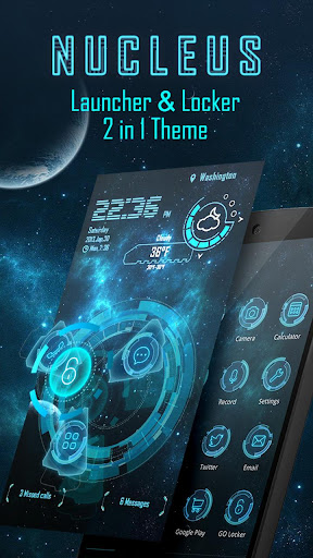 Nucleus 3D Launcher Locker