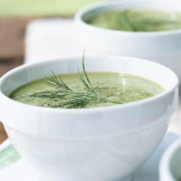Garlicky Cucumber Soup Recipe
