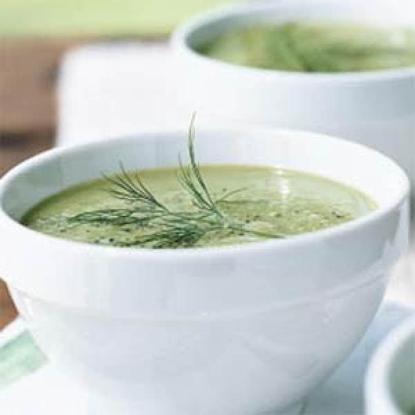 Garlicky Cucumber Soup