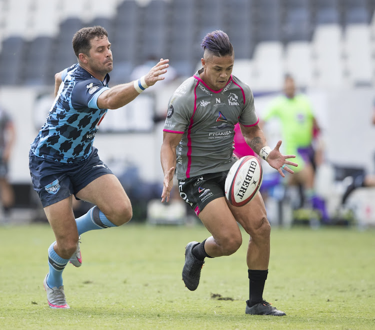 Devon Williams scored a pair of tries as the Phakisa Pumas crashed over the try line six times.