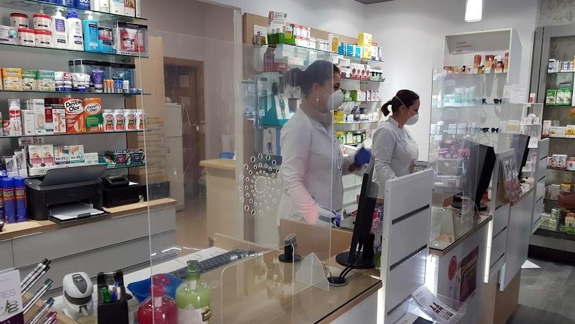 Imagen de una farmacia.