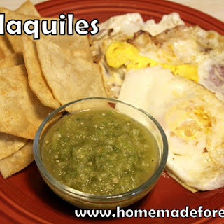 Chilaquiles!! Recipe