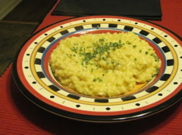 Cheddar Cheese Risotto Recipe