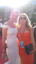 Photo: Adrienne Papp and Katherine Heigel at the Emmys