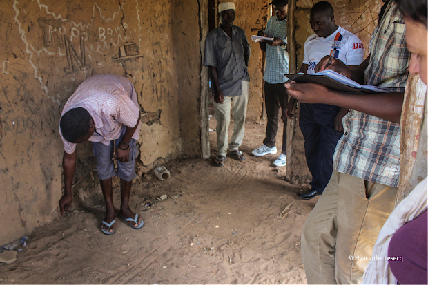 Participatory mapping in Kipo