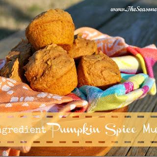 Two-Ingredient Pumpkin Spice Mini Muffins.