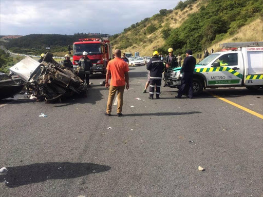 UPDATE: Driver killed in East London N2 accident