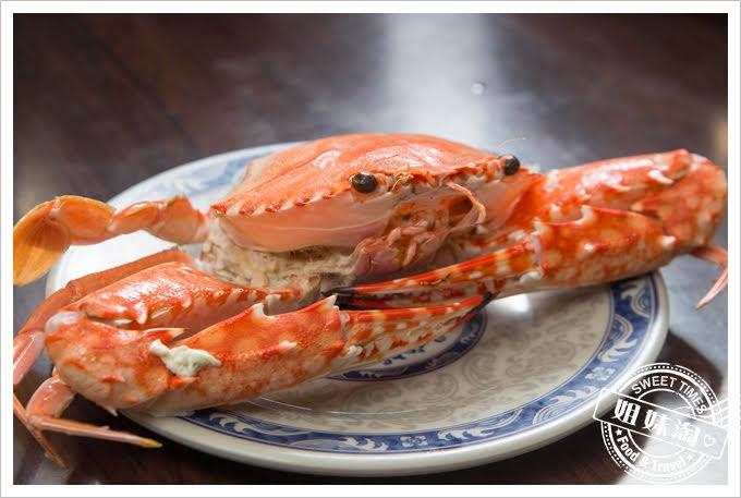 鮮蒸霸蒸氣海鮮塔花蟹
