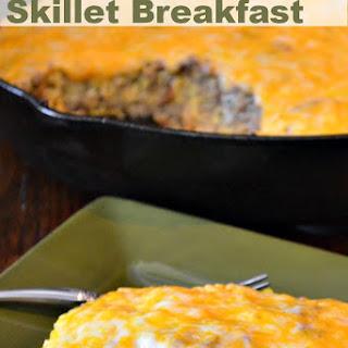 Hash Brown & Egg Skillet Breakfast