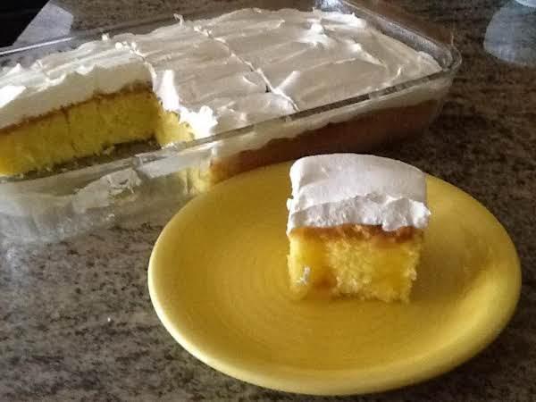 Lemon Curd Poke Cake Recipe