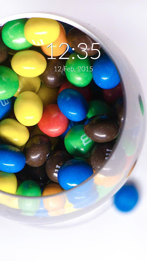 Colourful Candies Wall Lock
