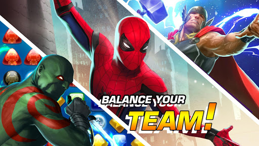 MARVEL Puzzle Quest: Join the Super Hero Battle! 207.535654 screenshots 17