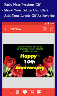 Anniversary Gif - náhled