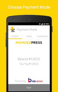 Momoe - Mobile payments- screenshot thumbnail