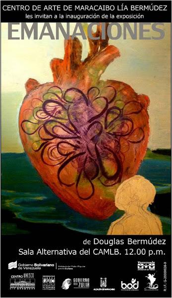 Photo: EMANACIONES: Obras del artista plástico Douglas Bermúdez. Sala Alternativa el día domingo 30 de octubre de 2011.