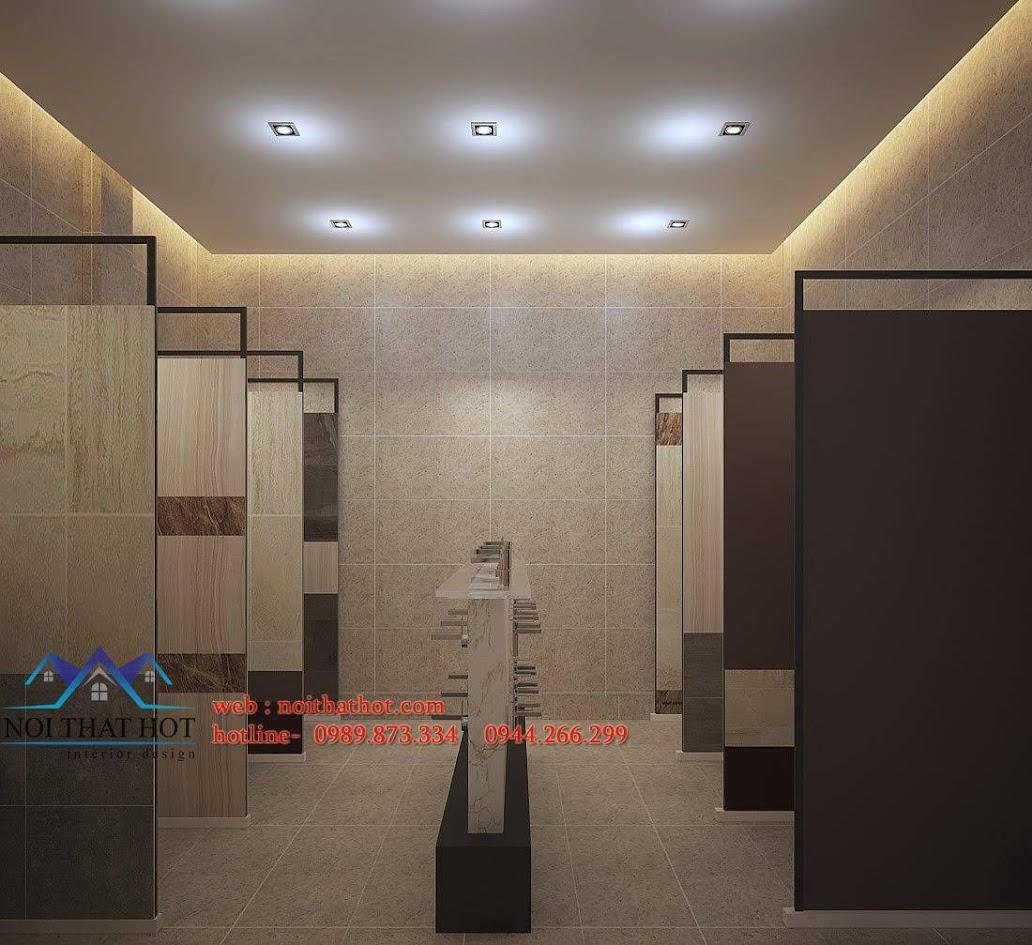 thiết kế cửa hàng thiết bị vệ sinh Phúc An 8