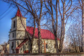 Photo: kostel v Dobieszow