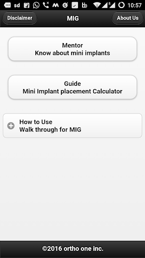 Mini Implant Guide app (apk) free download for Android/PC/Windows screenshot