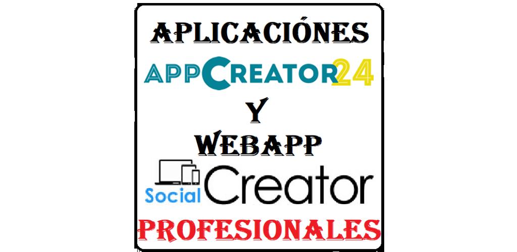 Download AppCreator24 y Social Creator APK latest version