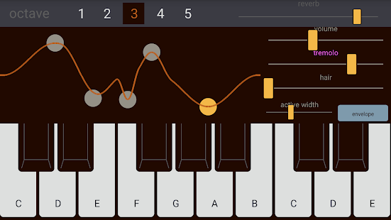 Deep Synth : FM Synthesizer- screenshot thumbnail