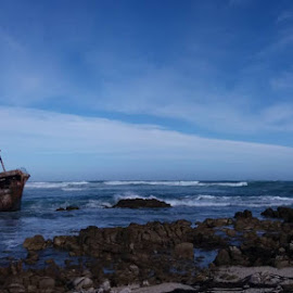 Wreck by Moira Hanekom - Landscapes Beaches