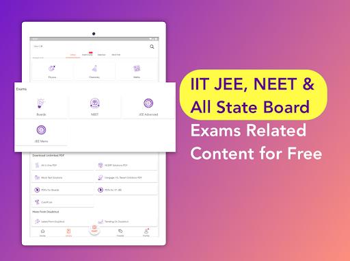 Free IIT JEE NEET Solutions NCERT CBSE Doubts App screenshots 9