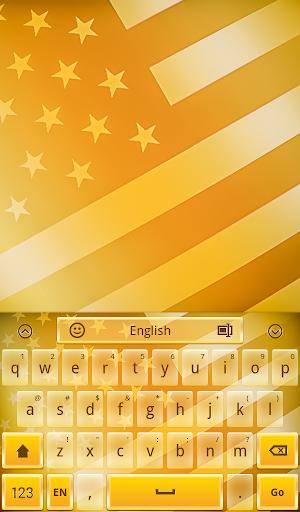 American Gold Keyboard