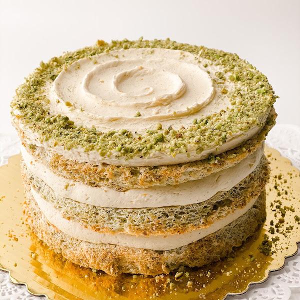 """ZEN 6"""" (Cardamom-Orange) cake"""
