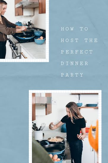 The Perfect Dinner Party - Pinterest Pin Template
