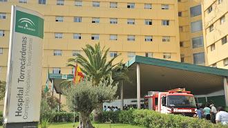 Instalaciones sanitarias de Torrecárdenas en Almería.