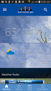KIMT Weather- screenshot thumbnail