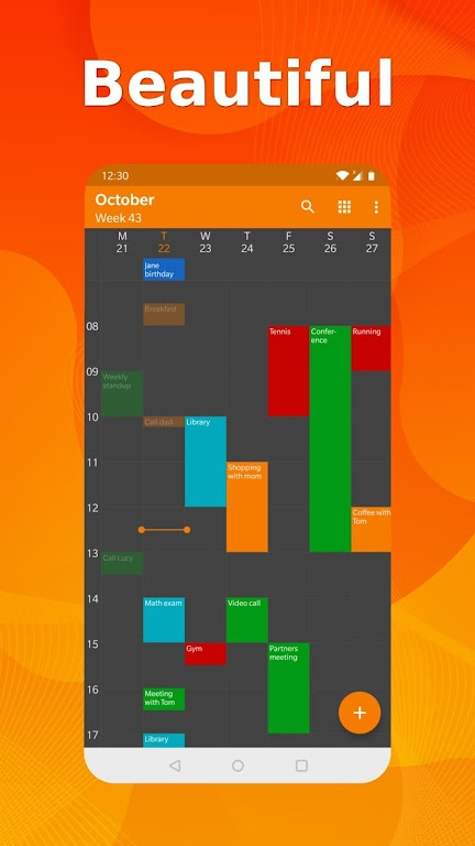 Simple Calendar Pro - Events & Reminders Manager  poster 2