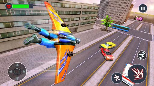 Flying Jetpack Hero Crime 3D Fighter Simulator 1.9 screenshots 2