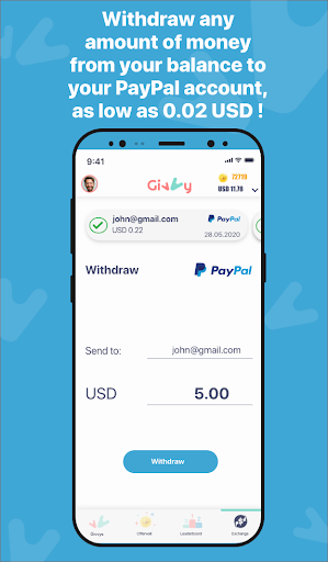 Earn money for Free with Givvy! screenshots 2