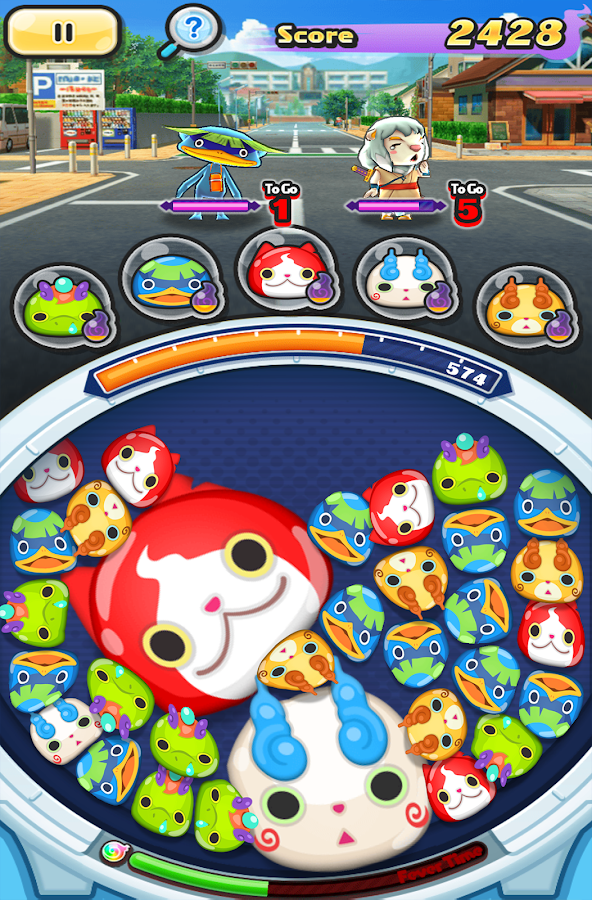 YO-KAI WATCH Wibble Wobble – Capture d'écran